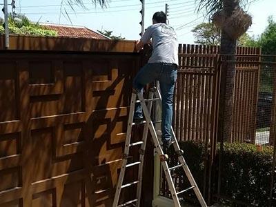 Instalação e conserto de cercas elétricas